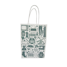 Recycled Top Quality New Design flat bottom kraft paper bag