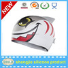 Waterproof silicone rubber animal swimming caps colorful Bathing Cap