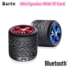 2015 Mini Fashion Design Wheel Bluetooth Speaker New Model