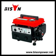 BISON(CHINA)Home use small 2 stroke 650w portable pertrol generator, 2 stroke 750w portable pertrol generator, 2 stroke portable