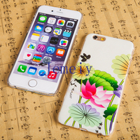 New Design 6 Colors Mobile Phone Back Cover Shell For Custom Printed iPhone 6 Case