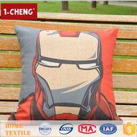Hot Sale Creative Fashion American Cartoon Design Printed Pillow Home Decor Lumbar Support Pillow,Polyester Pillow Travel Size