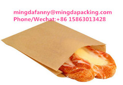 disposable paper packing bag ,paper bag for pizza/hot dog