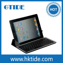 Gtide 10.1 Inch Aluminum Wireless Bluetooth Keyboard for ipad Air Tablet
