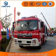China supplier 4*2 tianjin fire truck vehicle, metal model fire truck, best cabin chassis truck
