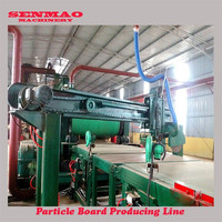 wood particle board and chip board line/particle board knife-ring flaker