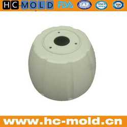 Customized rapid prototype vacuum casting parts and cnc machining metal water pump parts