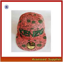 gorras planas deportivas a encargo/ gorras de moda venta al por mayor/ gorra de 5 paneles/golf/ beisbol