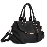 Factory direct cheap tassel bag female handbag classical handbag trendy bag