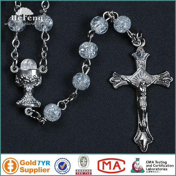 Matrimonio Catolico Precio : Pretty glass beads santo rosario católico hecho a mano del