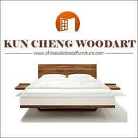 home furniture/Solid timber wooden double bed/king size round bed