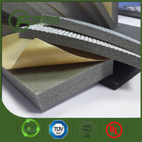 Hot sale heat insulation material Flexible Embossed aluminum foil backed xpe foam Insulation