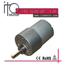 37mm small dc electric gear motors