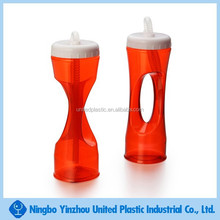 best selling product for 450 ml creative PVC sluch yard cup with handle and straw