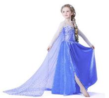 Europa y los estados unidos ELSAANNA trajes de princesa de los niños de ropa venta al por mayor fabricantes de explosión faldas de las muchachas