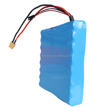 rechargeable 60V 2.2Ah 18650 cell 16S1P li ion rechargeable battery for electric unicycle, Scooter, E-bike,motocycle