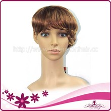 Wholesale Free Mixed Order Colorful Korean Original Fiber Hair Wig