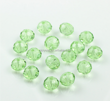 faceted rondelle glass beads,italian style rounel glass bead faceted