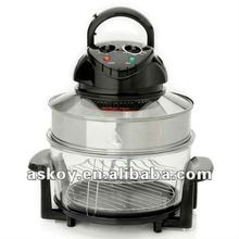 Hot Sale 2012!! Electric 17L Halogen Convection oven (AH-D11 ) with Extender Ring // A13 APPROVED