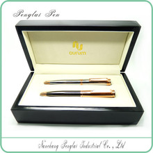 2015 luxury Wholesale set metal promotion gift couple corporate gift pen set