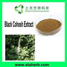 Manufacturer Supplier 2.5% Triterpenoid Saponins Black Cohosh Extract Black Cohosh P.E.
