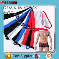 CHEAP PRICE 2015 front open men's underwear boxer