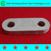 power metal fitting / yoke plate / link fitting