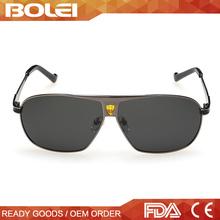 2015 top selling men metal polarized vintage sunglasses brand