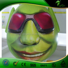 Green Lovely Monster Model Inflatable Cartoon Characters Made In China Supplier