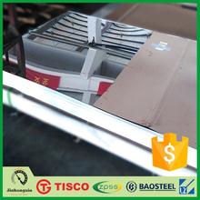 best selling 304 stainless steel sheet mirror polish