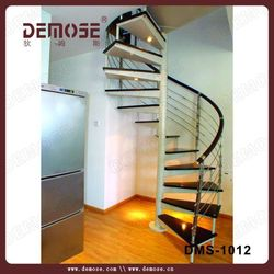 2013 new prefabricated spiral stairs for modern house