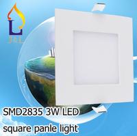 Free shipping fedex Energy-saving IP44 3w led panle light series smd2835