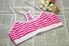sport crop top seamless kids underwear for girls young underwear