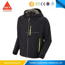 Men's Security Camping and Hiking Hooded bike black rain jacket 5000mm waterproof -7 years alibaba experience
