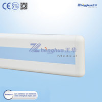Hospital PVC Handrail PVC Wall Guard For Nursing People Home