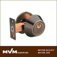 2015 hot sale single side mortise deadbolt lock D101AB