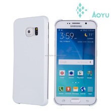 2015 hot sell PC blank 3d sublimation mobile design cellphone case for samsung galaxy s6
