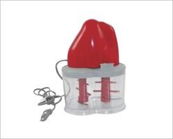 Dualetto double blades electric mini food chopper