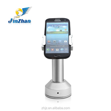 metal tilt stand for smart phone with secure alarm system