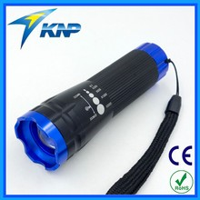3 AAA 200 Lumen LED Zoom Flashlight