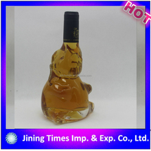 Atractivo precio alibaba de china pantalla de seda pequeña licor botella