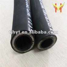 Manguera de hule con cables de acero trenzados de alta presión