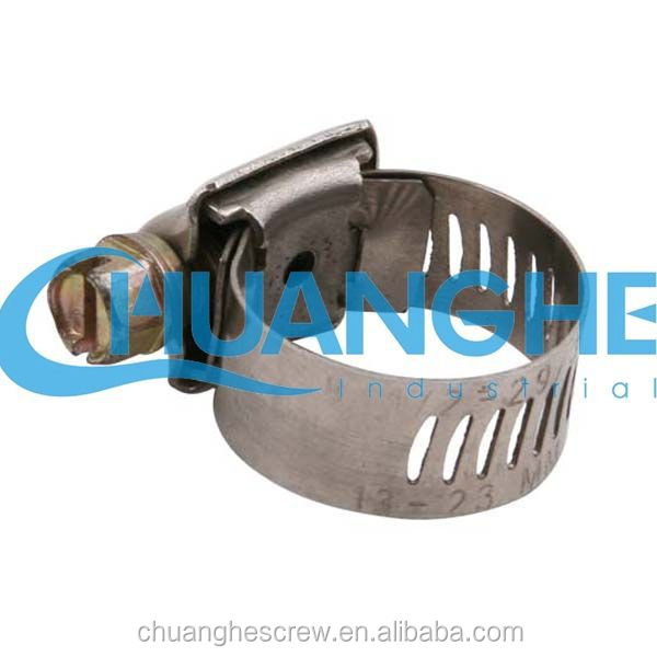 Single bolt heavy duty hose clamp hydraulic