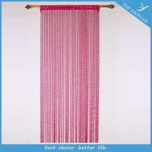 2015 Popular Spiral style polyester thread curtain/polyester door string curtain/decorative string window curtain