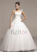 elie saab real sample wedding dress for fat woman one shoulder floor length