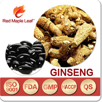 Chinese America Ginseng Extract 500mg Soft Capsules