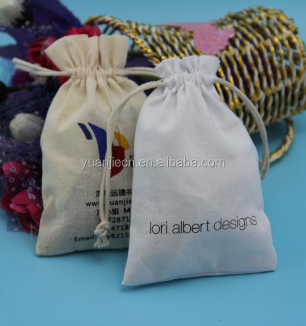 Yuanjie best selling recyclable organic cotton canvas bags,wholesale cotton cosmetic picking pouchs bags