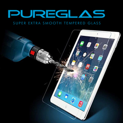 Pureglas tempered glass for 7 inch tablet , 9h tempered glass screen protector for iPad mini 4