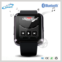 Cheap bluetooth for ios/android os smart watch, bluetooth smart clock wrist watch smartphone