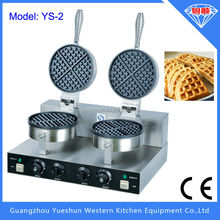Professional factory supply double plates commercial electric waffle maker